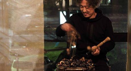 """Perkusijos koncertas """"Resonance"""" - Kompozitorius ir atlikėjas Tomoo Nagai"""