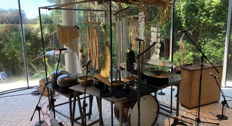 """Garso ir ritmo dirbtuvės """"Resonance"""" su kompozitoriumi Tomoo Nagai"""